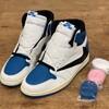"""Fragment x Travis Scott x Nike Air Jordan 1 """"Military Blue"""" - First Look"""