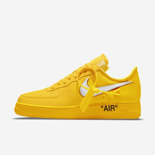Off White X Nike Air Force 1 Low University Gold Raffle List